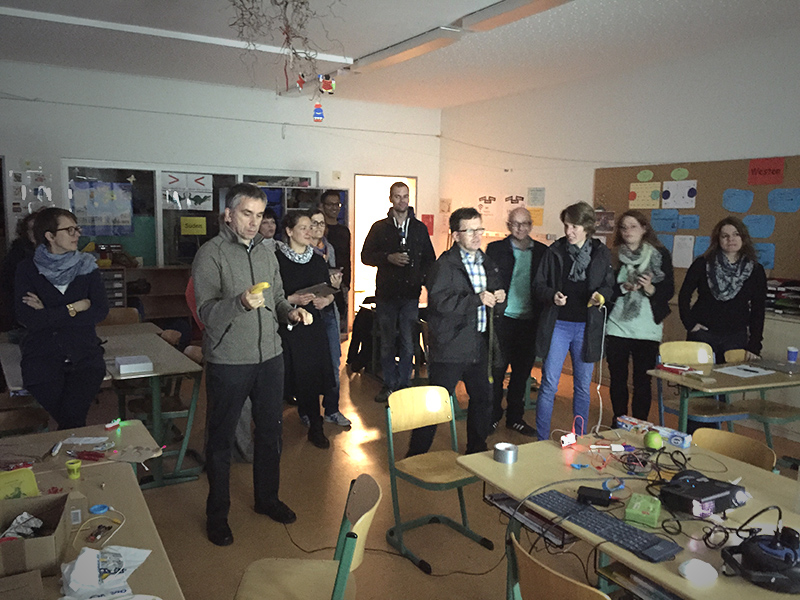 Medien-Praxis-Abend an der Grundschule Sachsenweg